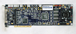 data acquisition processor board DAP 5200a